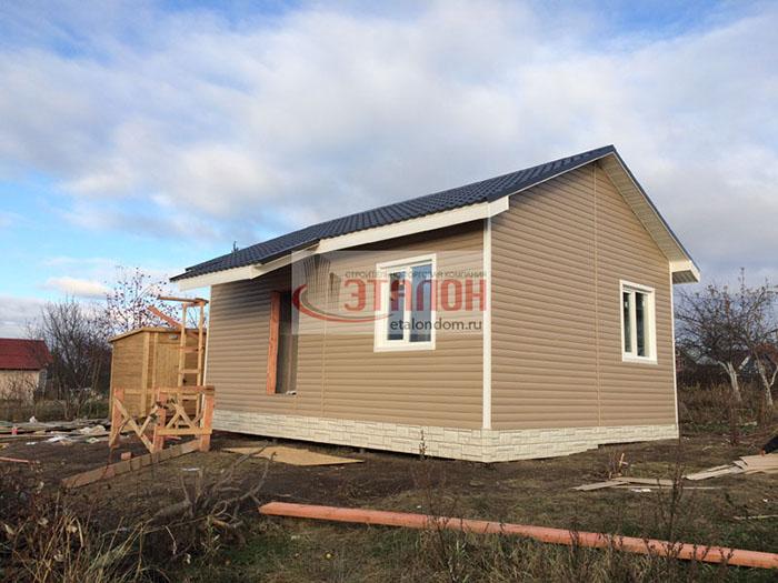 каркасный дом по американской технологии на etalondom.ru